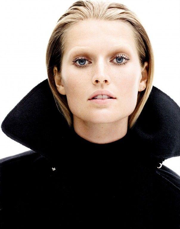 Publication: US Harper's Bazaar September 2012  Model: Toni Garrn  Photographer:Daniel Jackson