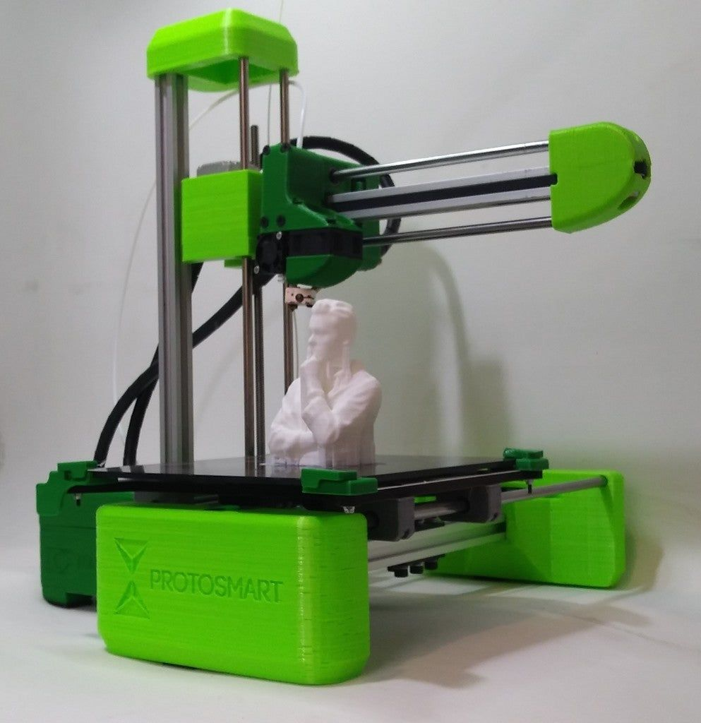Easy To Assemble 2020 3d Printer By Protosmart Thingiverse 3 D