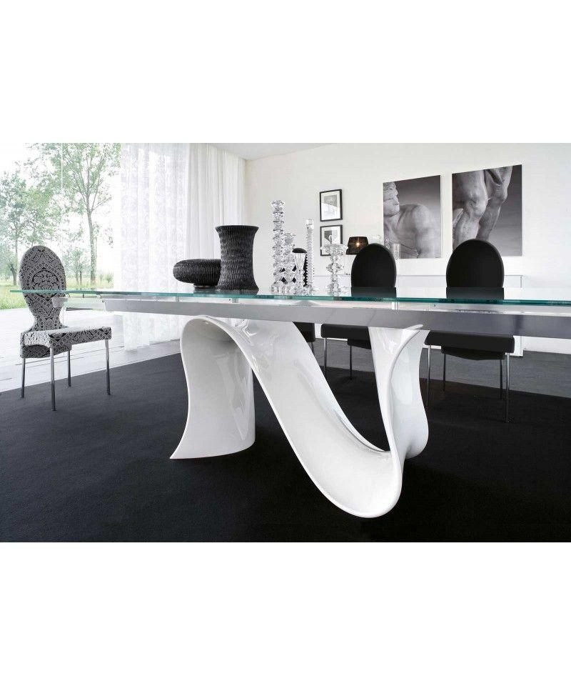 Tavolo allungabile vetro Wave | casa di Michela | Pinterest