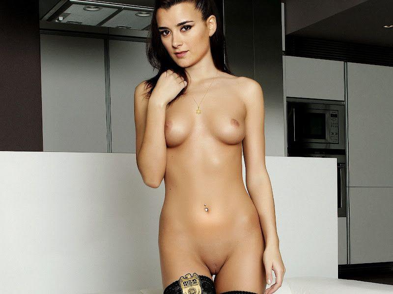 Something also Ziva look alike nude