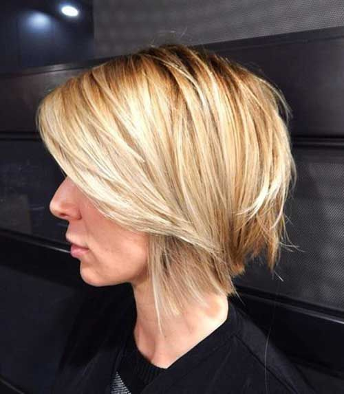 Awesome Pretty Short Bob Hairstyles With Side Swept Bangs Bangs Are