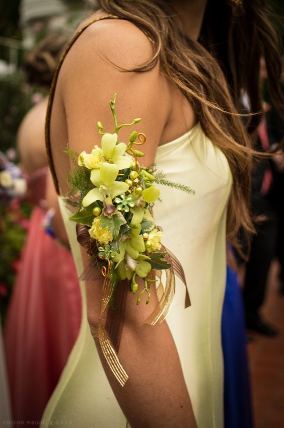 How to make wrist corsage diy 5 #corsages
