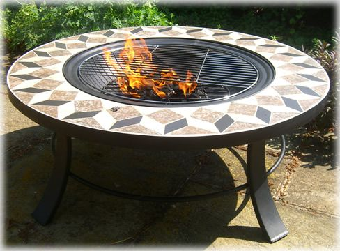 Round Table Fire Pit: Braziers, Fire Baskets Copper Firepits, Buy Online.