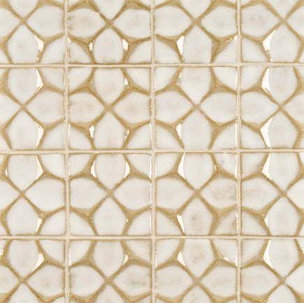 Kitchen Backsplash Tile Ann Sacks Nottingham Honeycomb Artisan Glaze Tile In Veil Via Atticmag