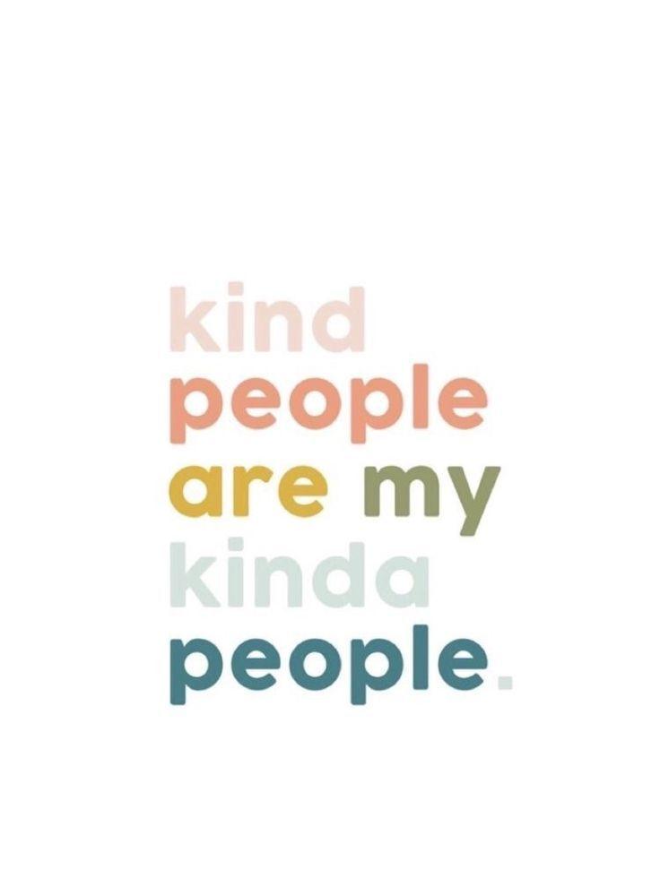 we need kindness.