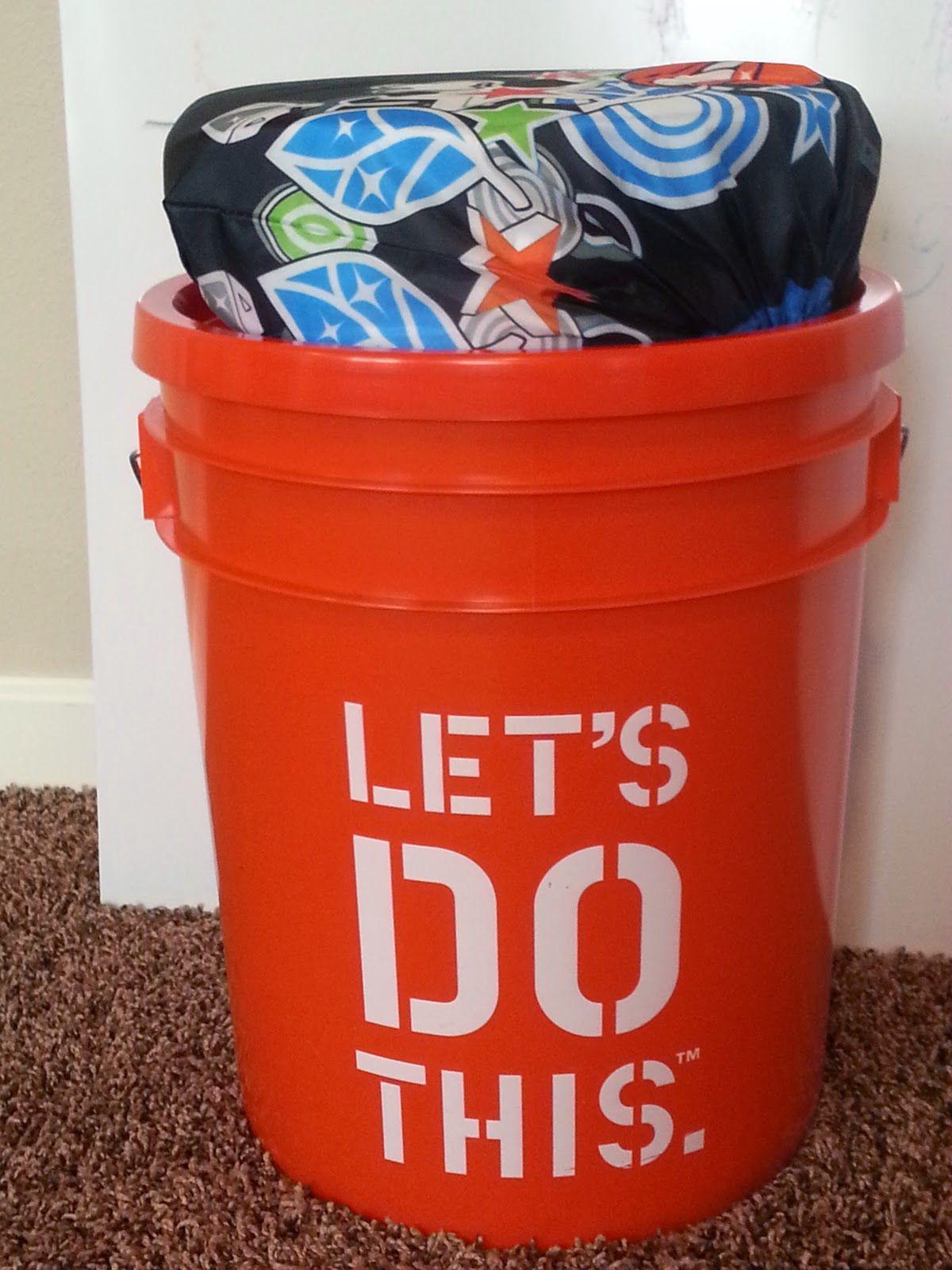 Pioneer trek 5 gallon bucket seat tutorial. Lots of pictures. 15 ...
