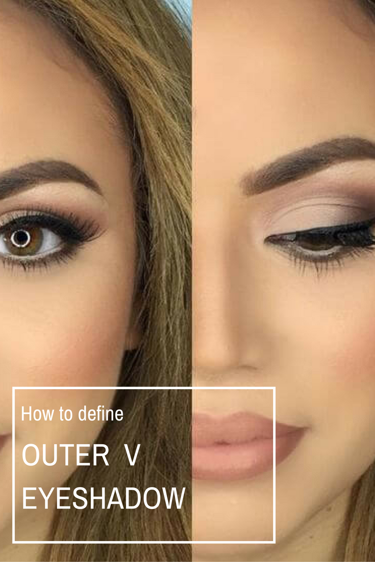 How To Define The Outer V Eyeshadow Learn How To Do One Of The Basic Eyeshadow Techniques How To Create Eyeshadow Techniques How To Do Eyeshadow Eyeshadow