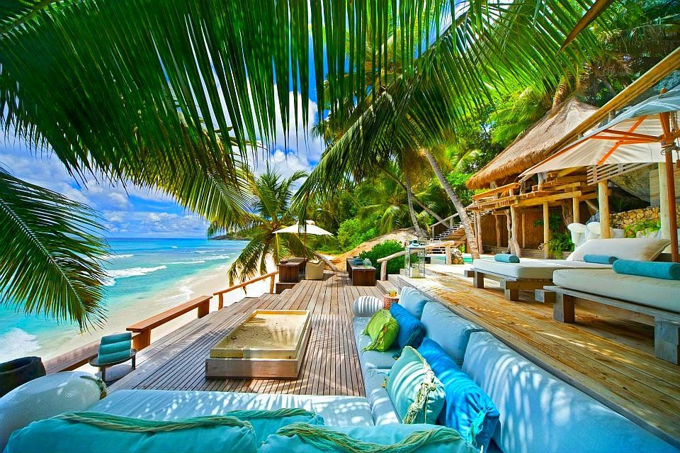 Tropical Island Beach House: Fregate Private Island --Seychelles