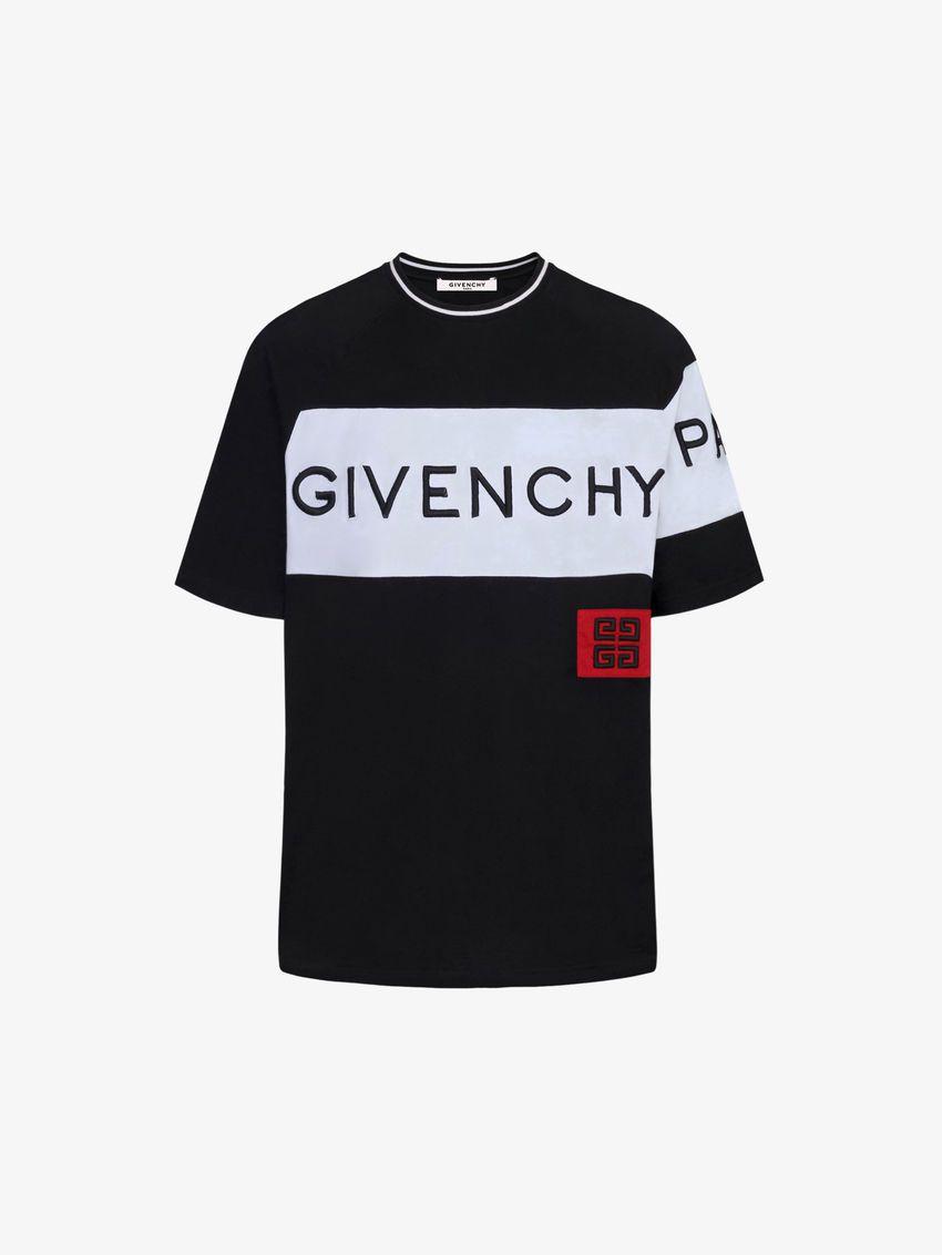 33da414f PARIS 4G embroidered T-shirt | Pants | Givenchy paris, Givenchy, T shirt