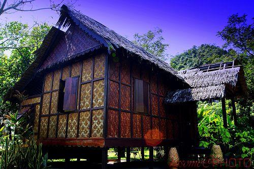 Another Traditional Pahang Malay House Malaysia Time