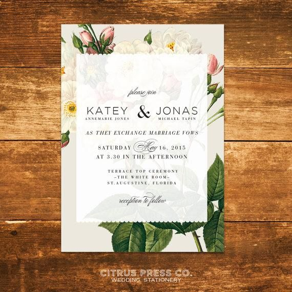 Lovely Wedding Invitations and Stationery Ideas for Inspiration - Citrus Press Co.