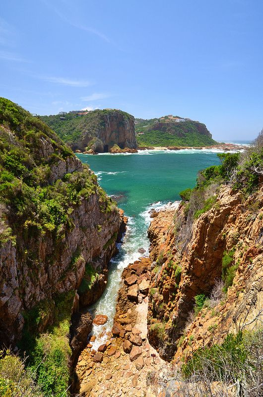 Featherbed Nature Reserve hike in Knysna, South Africa
