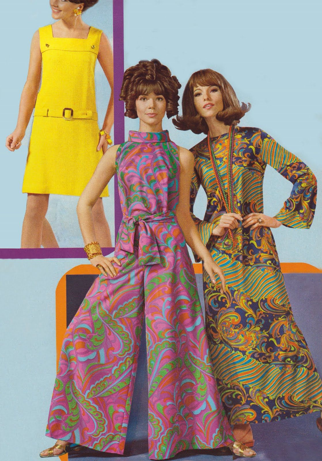 Cirugía Están familiarizados Conceder  Compulsiva Perú: Joyas y Complementos: Moda vintage: fotos e imagenes de la  moda de los años 60's | Moda de los años 60, Moda vintage, Vestidos de los  70