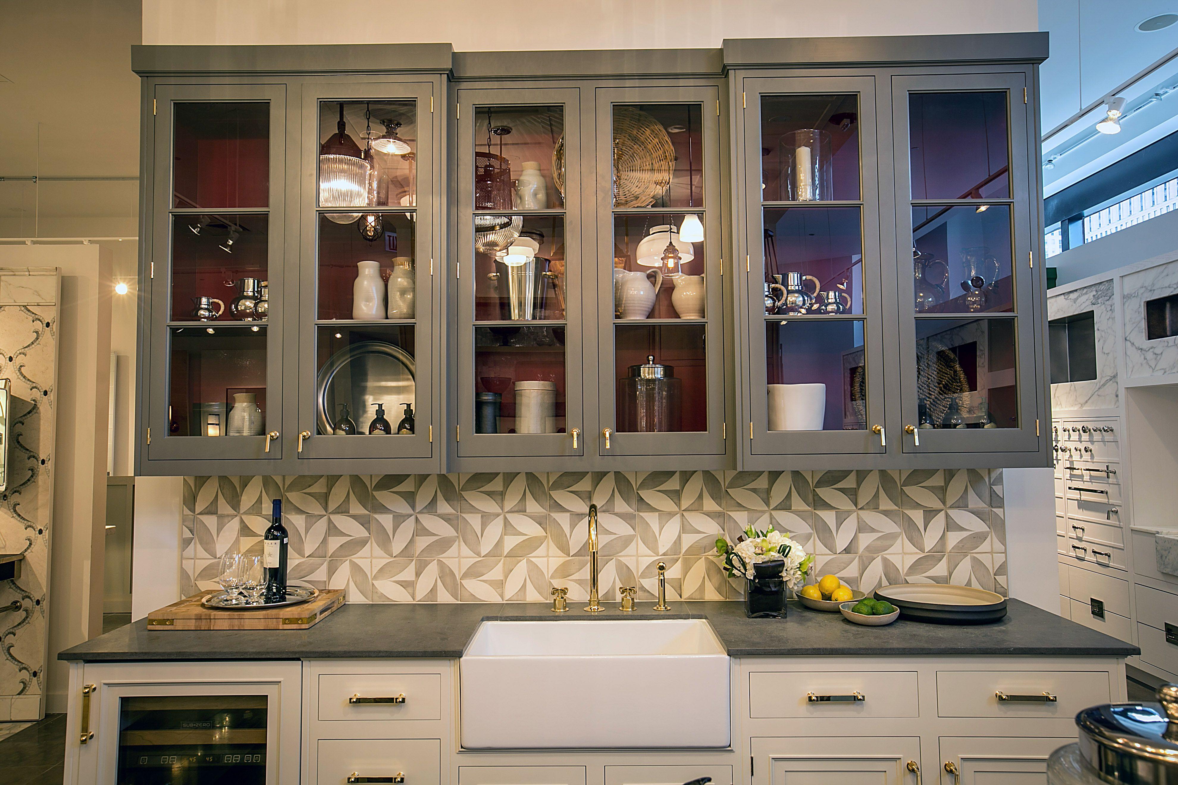 Waterworks Kitchen In Chicago Showroom Kitchen Design Kitchen Waterworks Kitchen