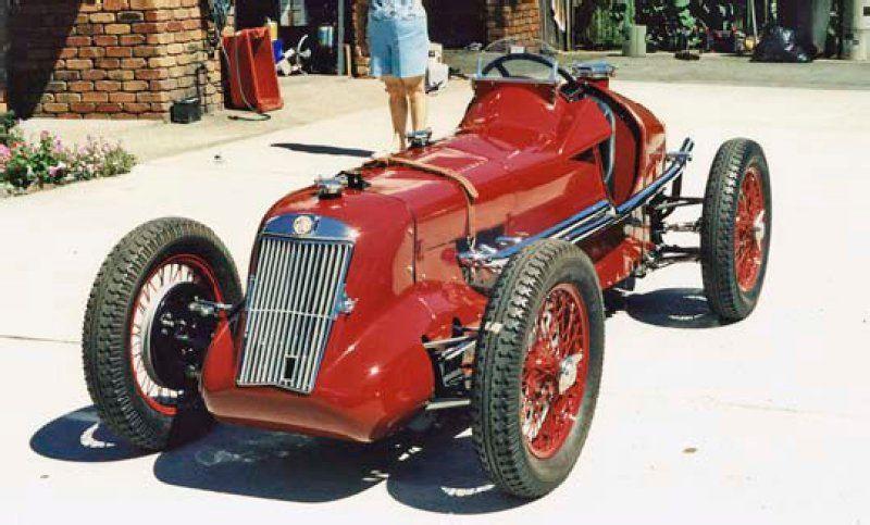 MG Rtype racing car (1935) Mg cars, Sports cars