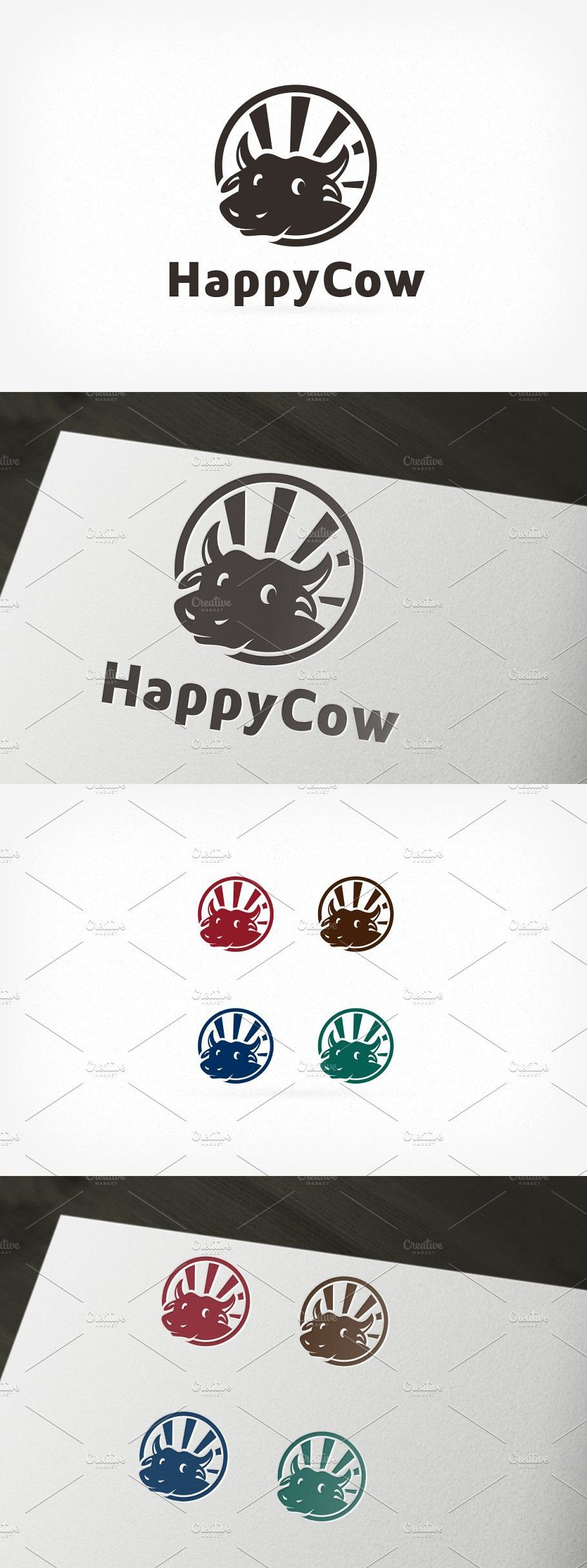Beef butcher Logo in 2020 Logo templates, Template