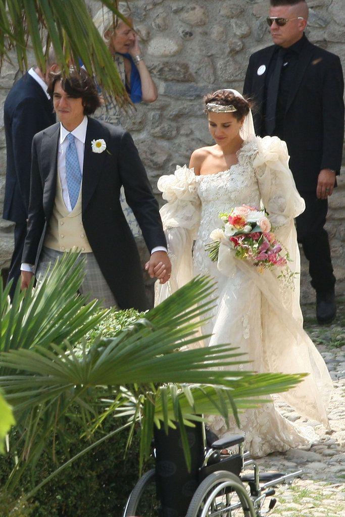 She looks gorge. Margherita Missoni Marries in Giambattista Valli ...