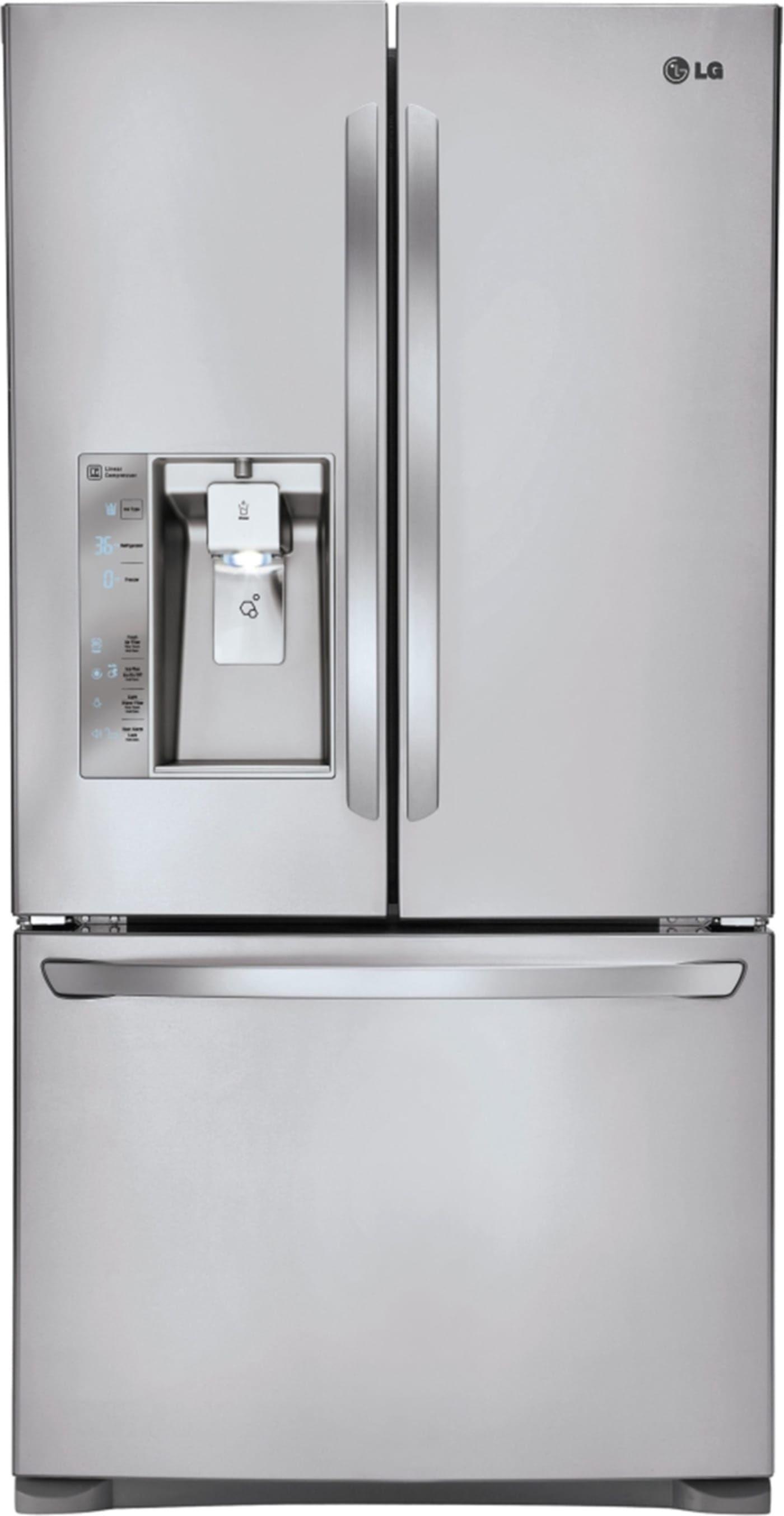 Lfxc24726s By Lg French Door Refrigerators Goedekers Com