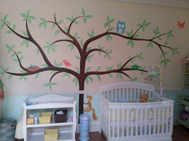 Hand painted nursery