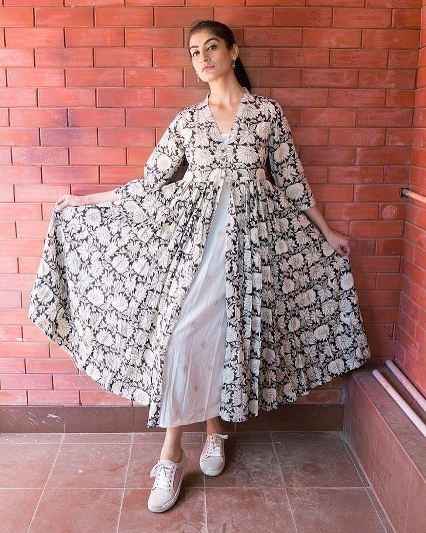 1 001 Likes 22 Comments Gulabojaipur Gulabo Jaipur On Instagram Mul Mul Cape With Cotton Dress To Best The Casual Day Dresses Clothes For Women Dresses [ 1092 x 873 Pixel ]