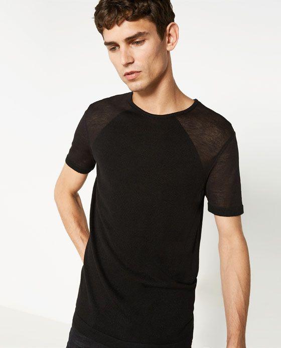 78552105a4 ZARA | Openwork Sweater | FASHION | Mens tops, Zara, Sweaters