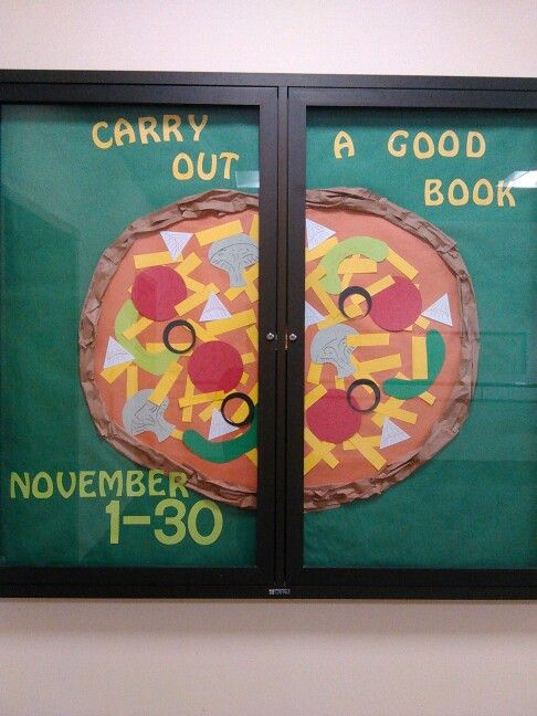 Carry out a good book