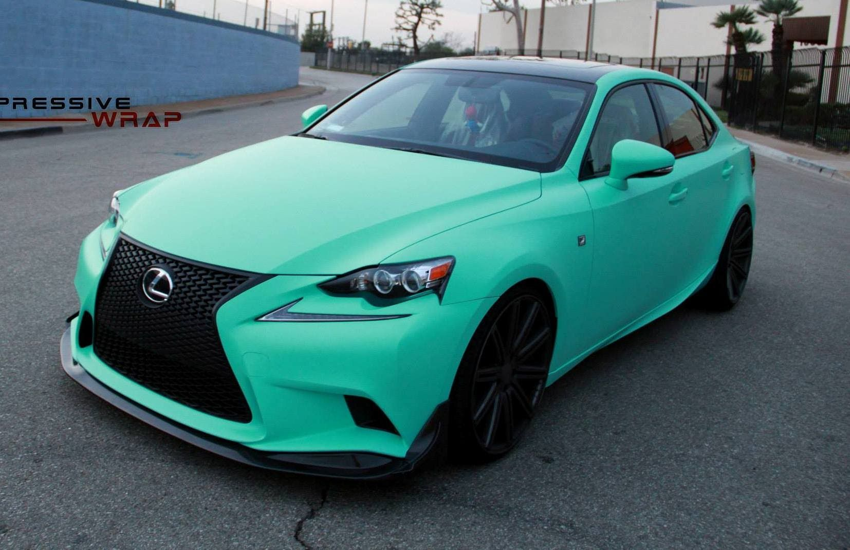 Lexus IS by Impressive Wrap