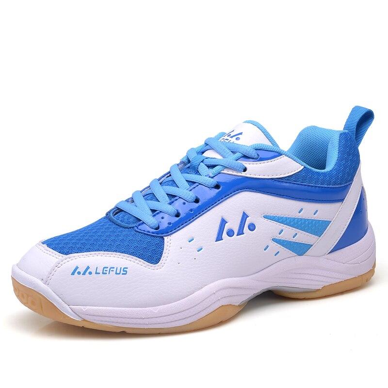 Brand Men Badminton Shoes High Quality Eva Muscle Anti Slippery Training Professional Sneakers Women Sport Badminton Shoes Plus