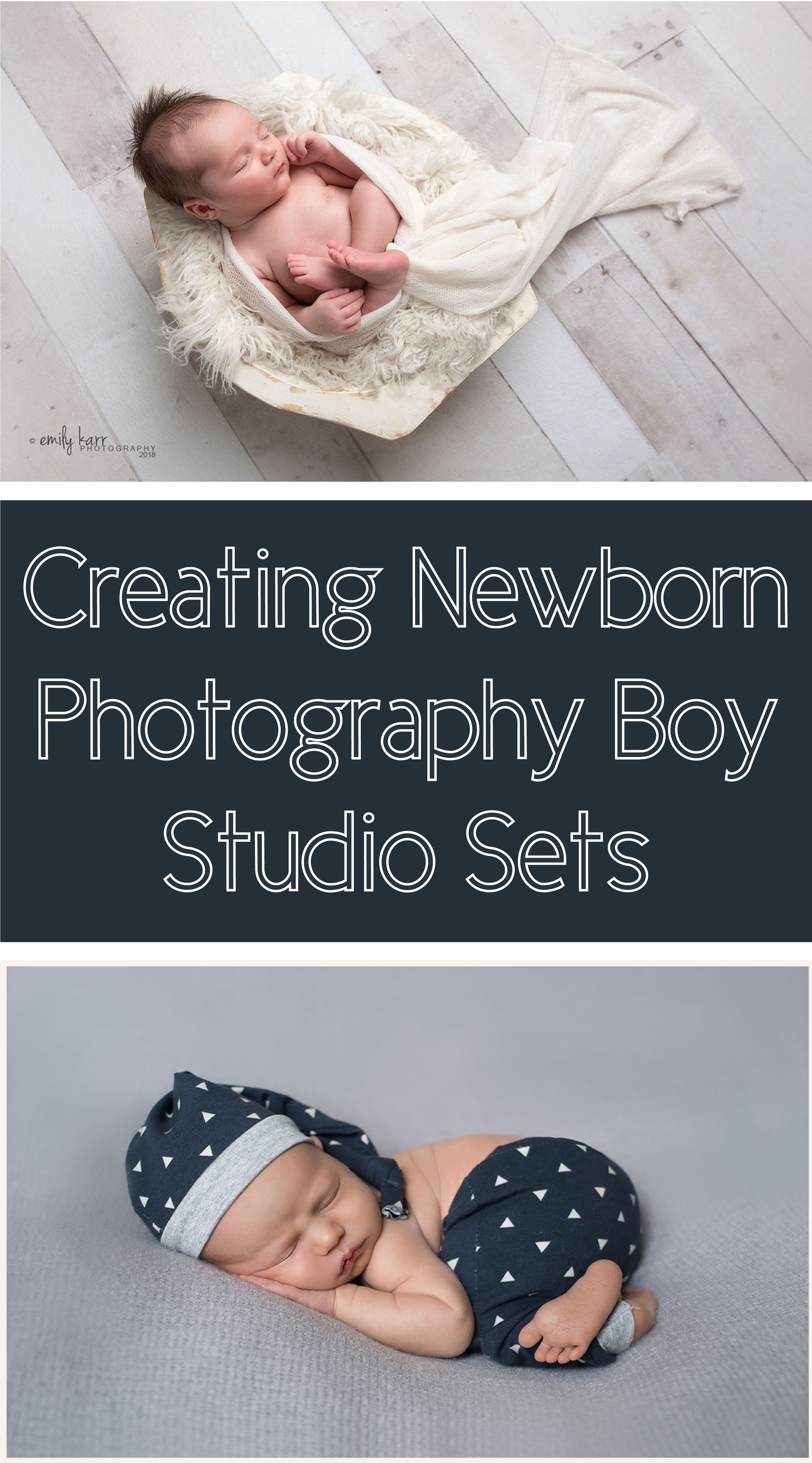There are three great ways to create a memorable newborn photography boy setup that any family