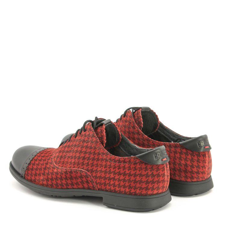 Camper 21492 In Rot Kombi 1913 21492 017 Camper Shoes At Mbaetz