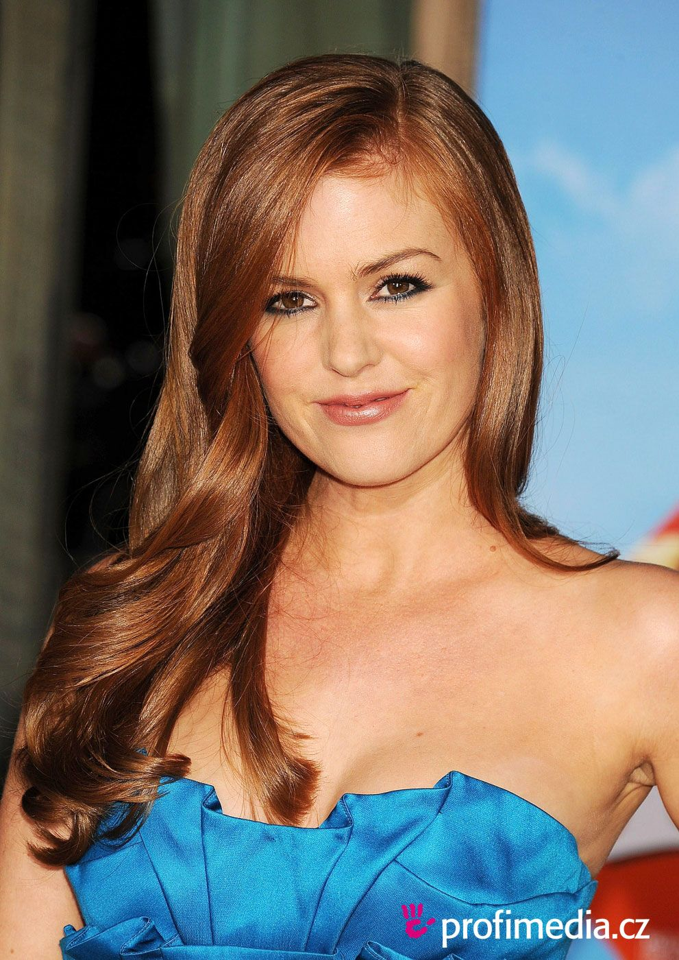 Isla fisher love her red hair hair styles i love pinterest