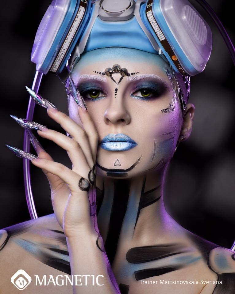 Alles Voor Halloween.Alles Voor Mooie Nagels Extreme Makeup Scary Halloween Nails Design Cover Girl Makeup