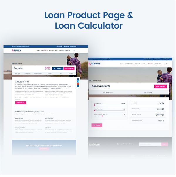 Loan Company Responsive WordPress Theme #Company
