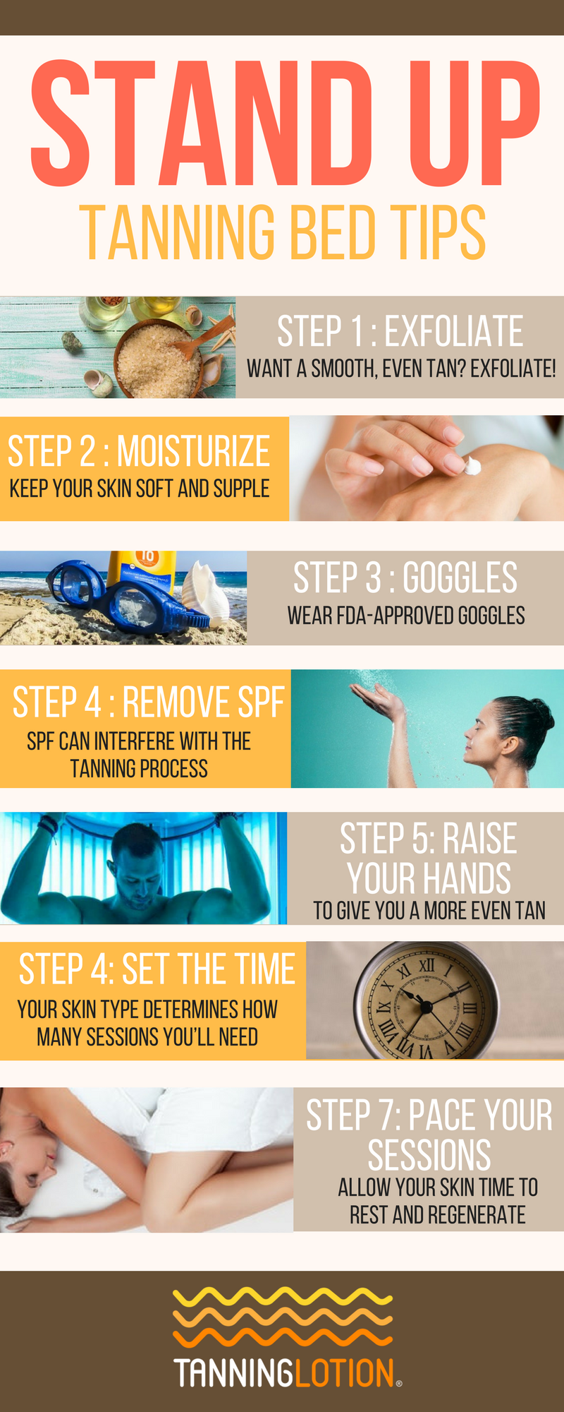 Stand Up Tanning With Images Tanning Bed Tips