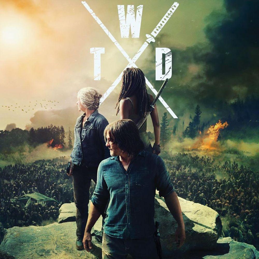 The Walking Dead On Instagram Finally The Hd Version Of Thewalkingdead Season 10 Poster From The Walking Dead Walking Dead Wallpaper Fear The Walking Dead