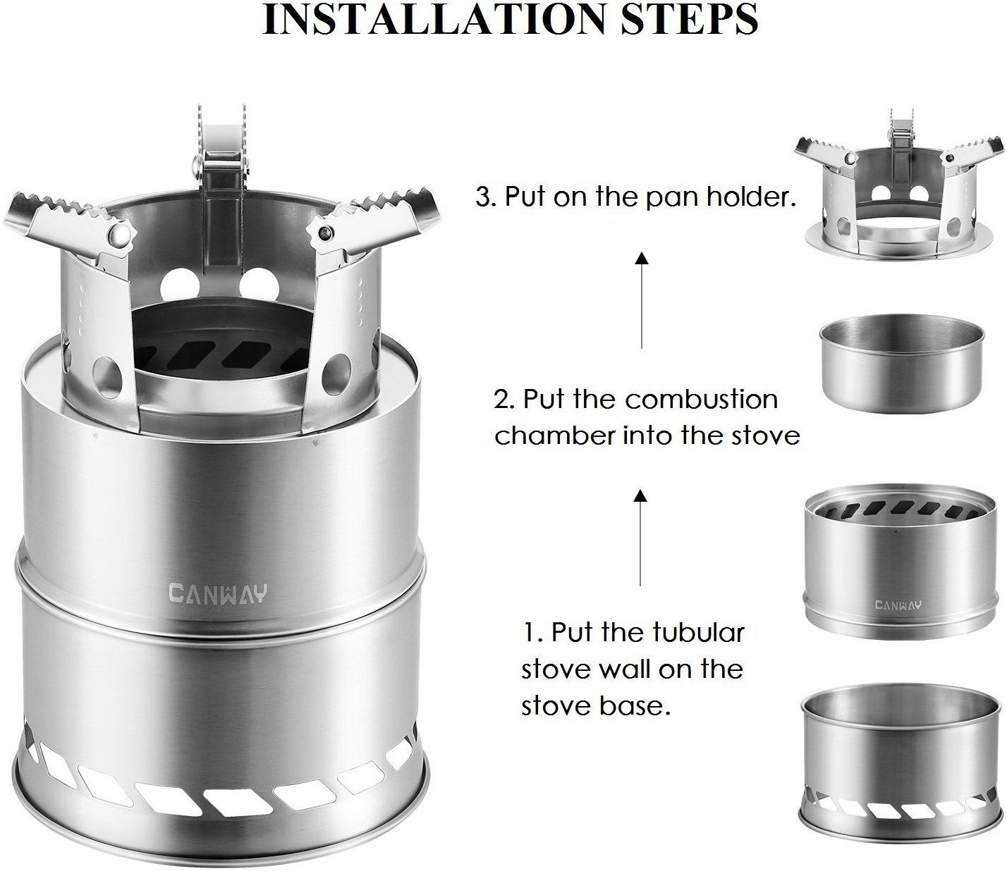 Image result for canway camping stove