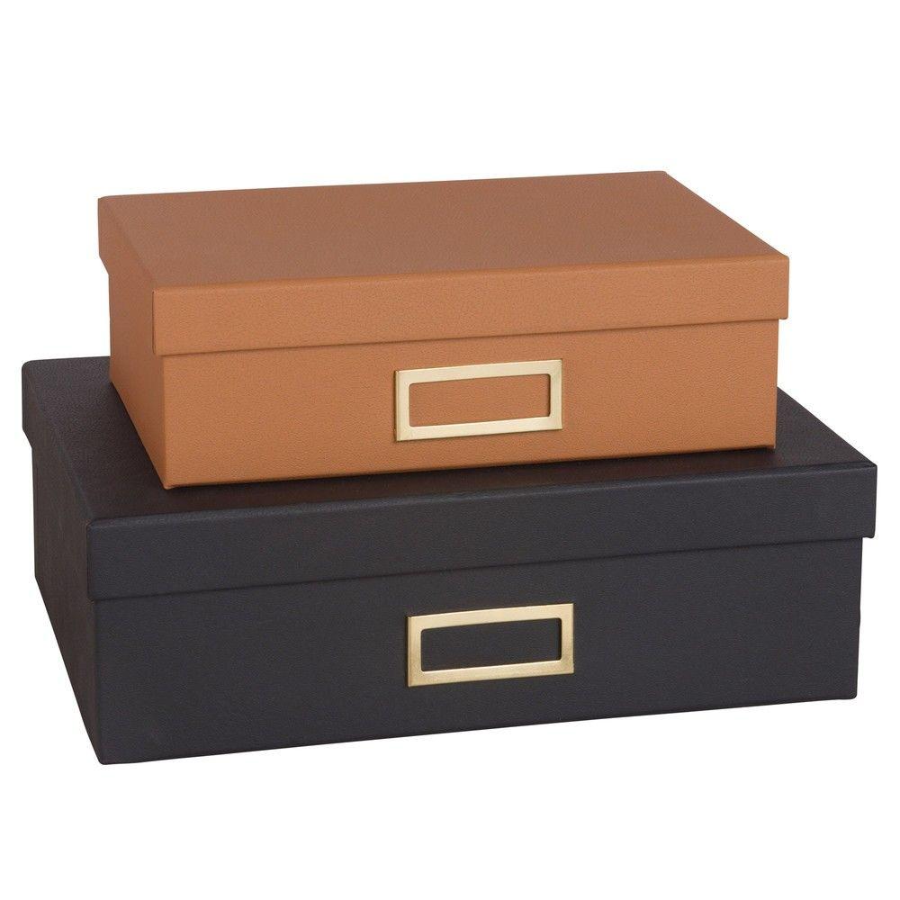 Almacenaje Caja De Carton Cajas Y Caja Negra