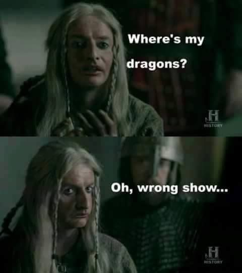 Vikings Game Of Thrones Meme Tv Shows Funny Viking Meme Vikings