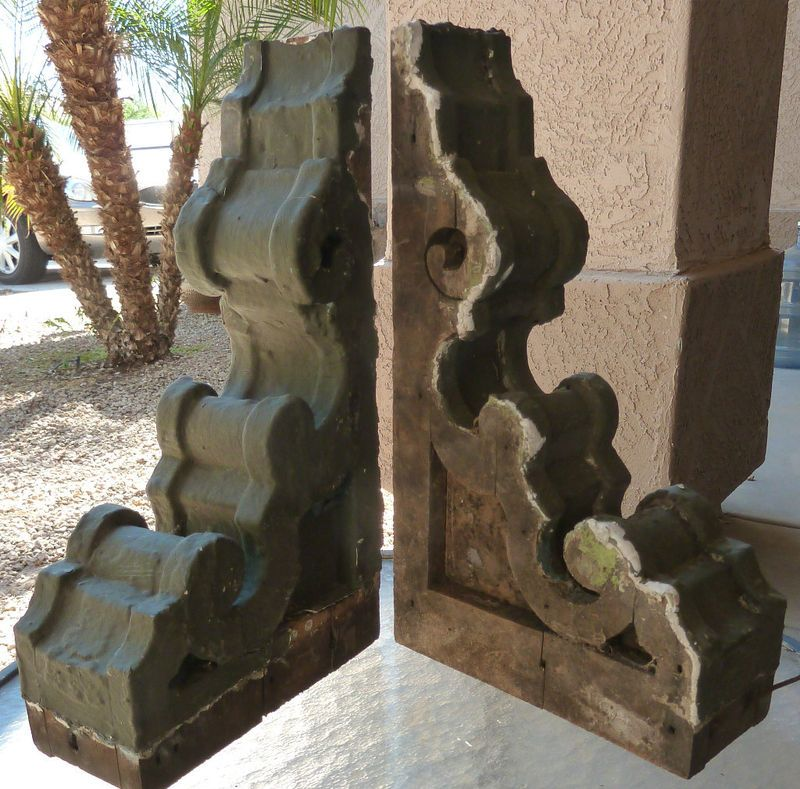 Antique Corbels With Images Wood Corbels Corbels Salvaged Decor
