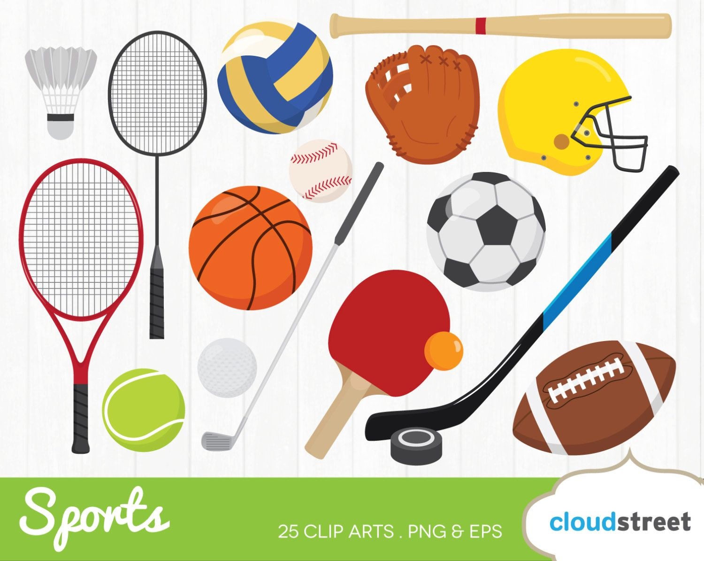 20 Off Clipart De Deportes X2f Deportes Engranaje Clip Art X2f Clip Art Sports Clips Sports