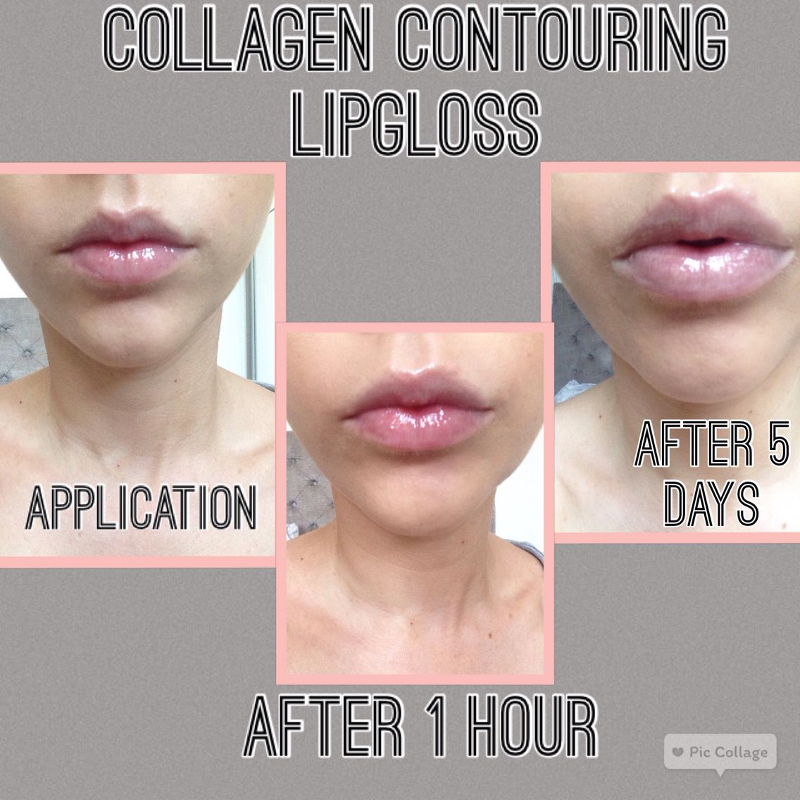 Collagen Contouring Lipgloss Enhancing The Natural Collagen In Your Lips No Needles No Stinging Plumper L Contouring Lip Gloss Diy Lip Plumper Lip Plumper