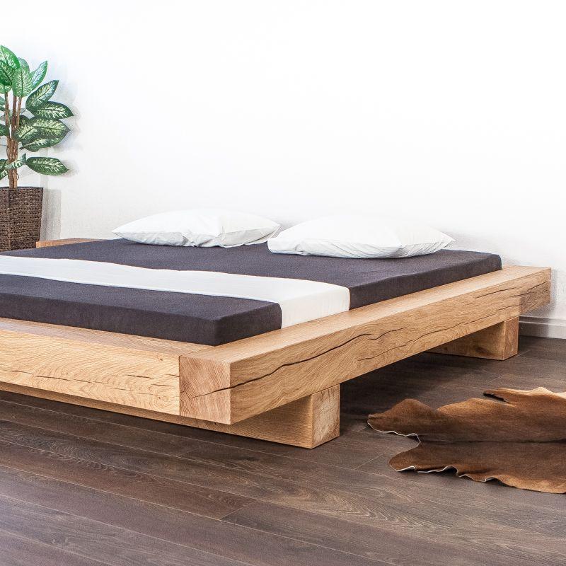 Das Balkenbett aus Schweizer Holz mit Liebe zum Detail