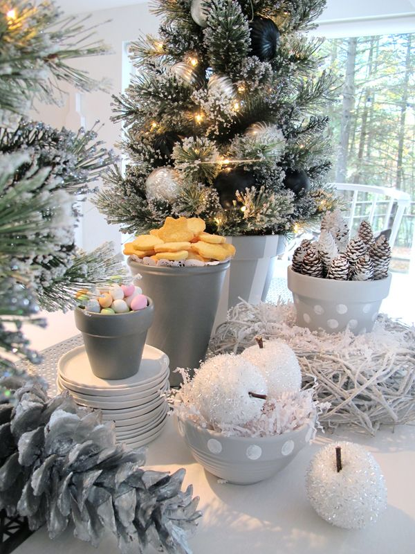 Wonderful Holiday Decoration Ideas Part - 1: Holiday Decorating Ideas For A Scandanavian Styled Fête