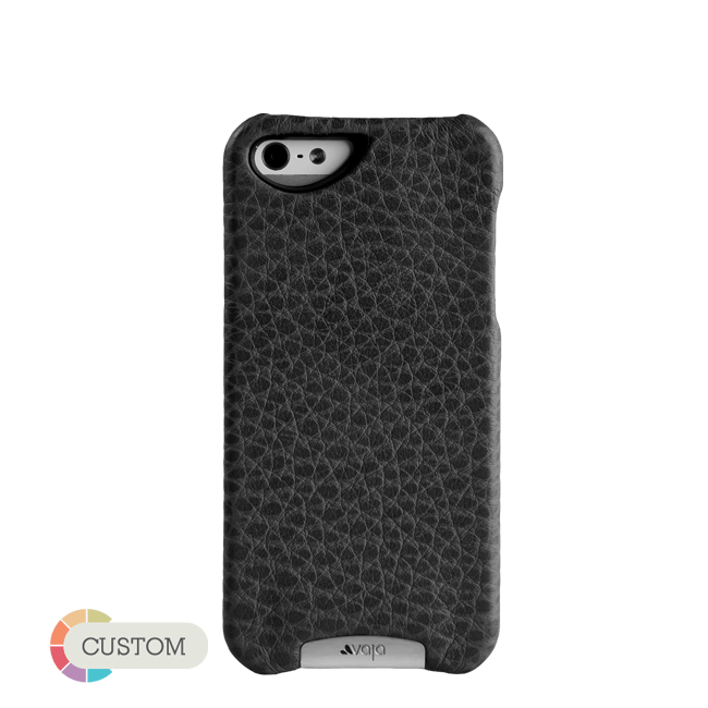 Customizable Grip - Leather Hardshell iPhone SE Cases