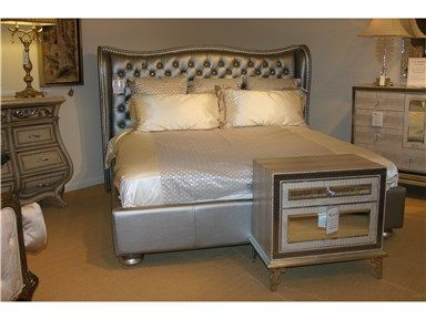 For Group Settings Hollywood S King 3 Piece Bedroom By Michael Amini 03014