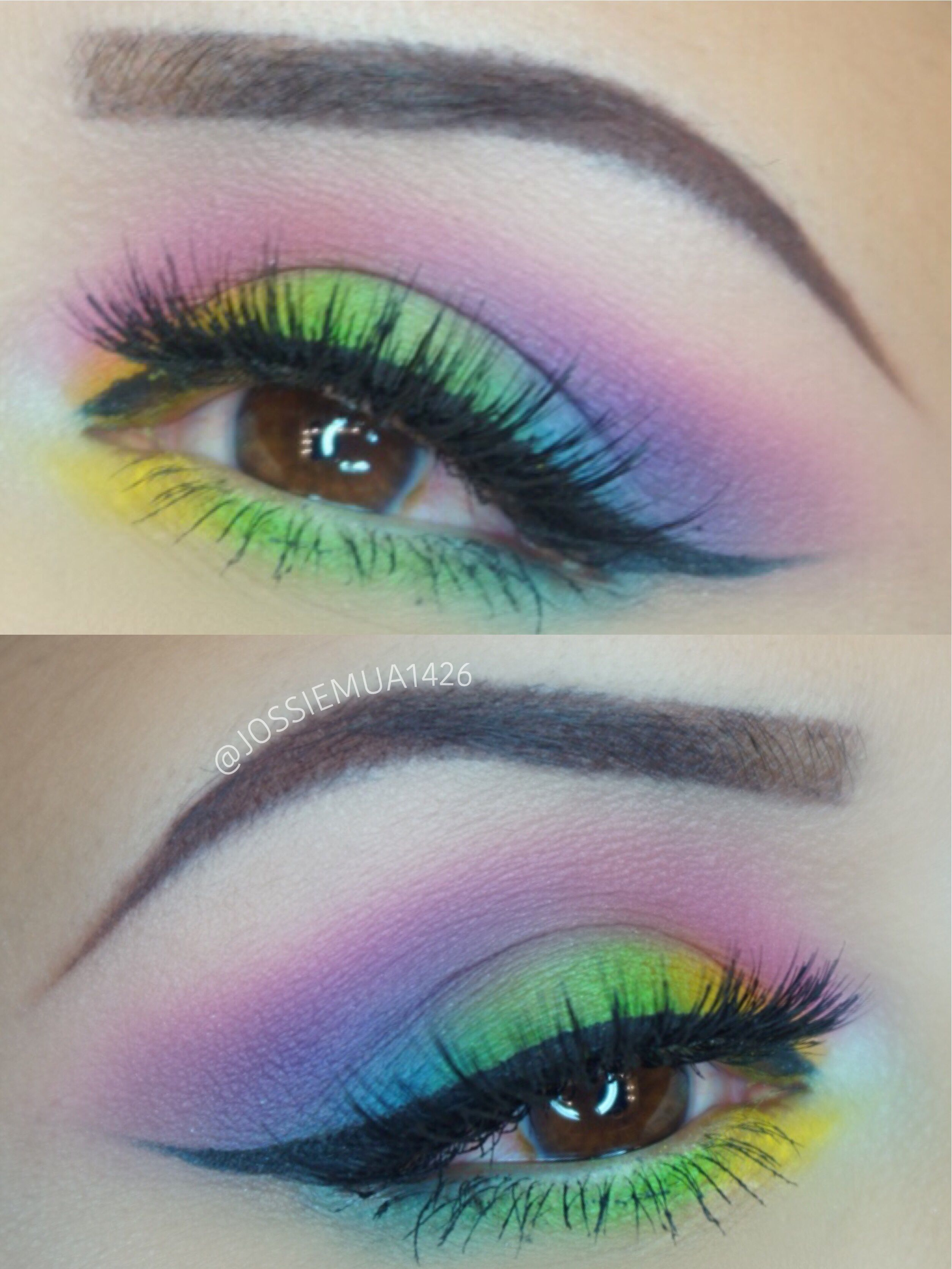 Bhcosmetics Take Me Back To Brazil Palette Rainbowlook Looks