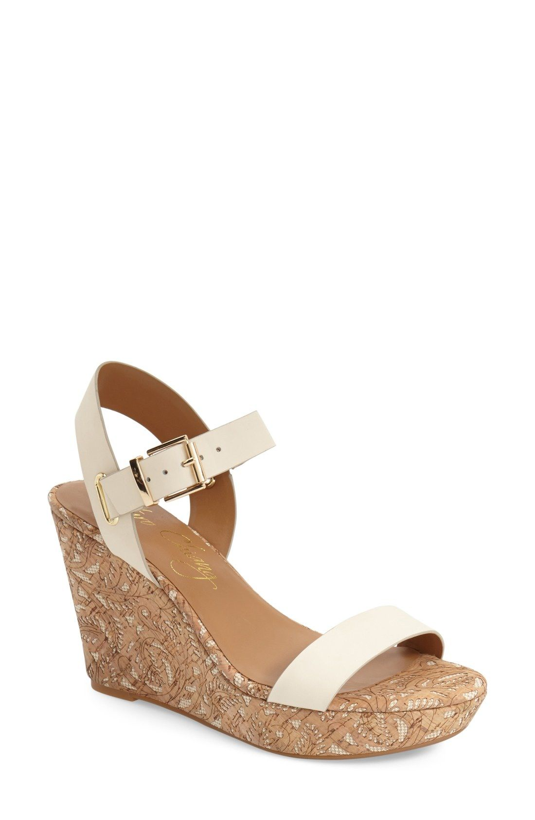 0ee8f7716bd7 Arturo Chiang  Paulline  Wedge Sandal (Women) available at  Nordstrom