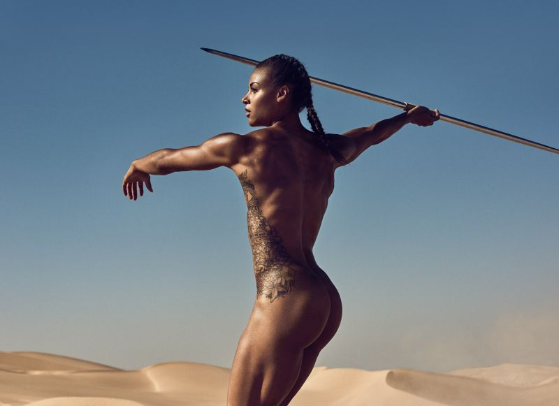 Nude black women in sports