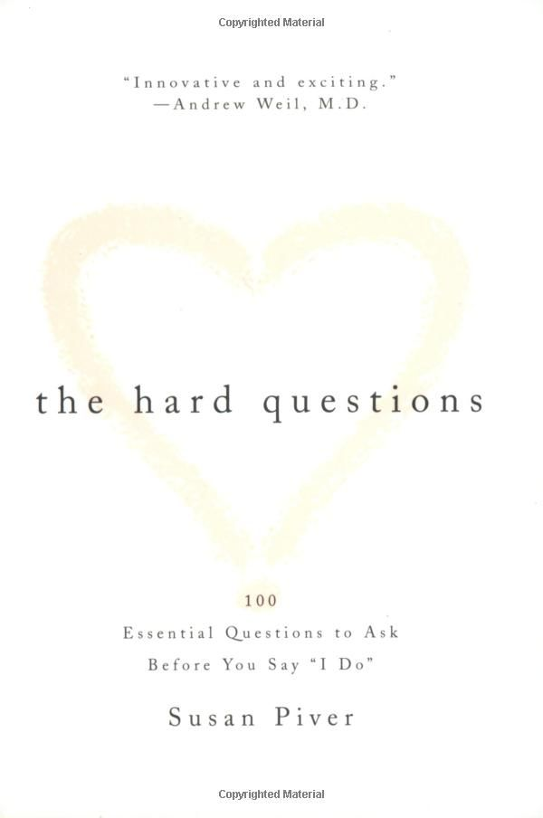 Questions To Ask In Premarital Counseling
