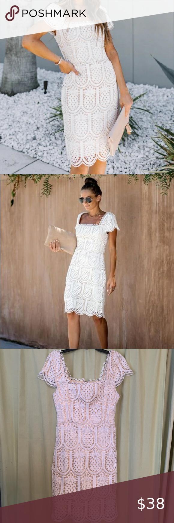 Vici White Pineapple Print Eyelet Dress Eyelet Dress Dresses Vici Dress [ 1740 x 580 Pixel ]